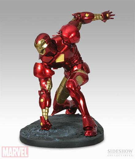 Dicen por ahí que esta estatua de Iron Man dará que hablar...
